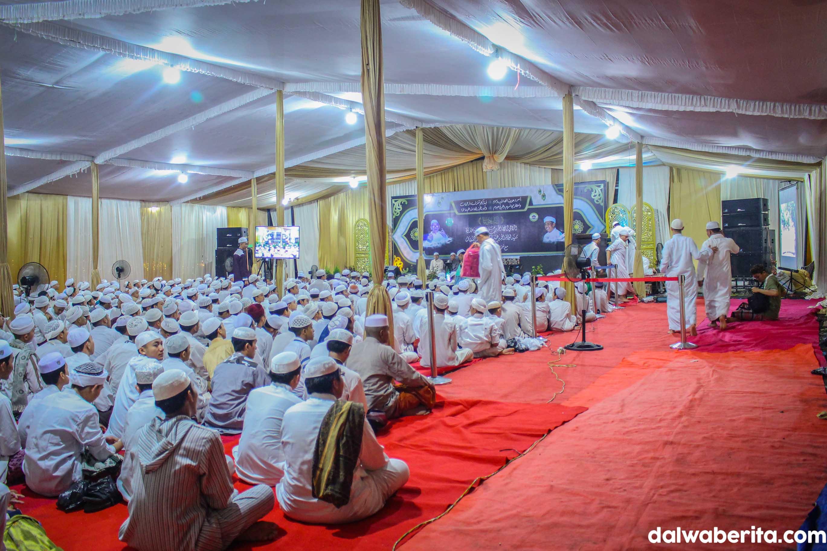 Luar Biasa; Peserta Haul Abuya Hasan dan Sayyidil Walid Meningkat