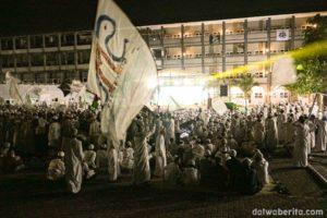 Perayaan Isra Mi'raj Dalwa Ba'alawi Berlangsung Heboh