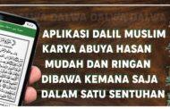 Review Aplikasi Dalil Muslim Karya al-Habib Hasan bin Ahmad Baharun.