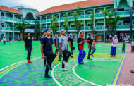 Gladi Bersih Peringatan HUT Kemerdekaan RI di Ponpes Dalwa