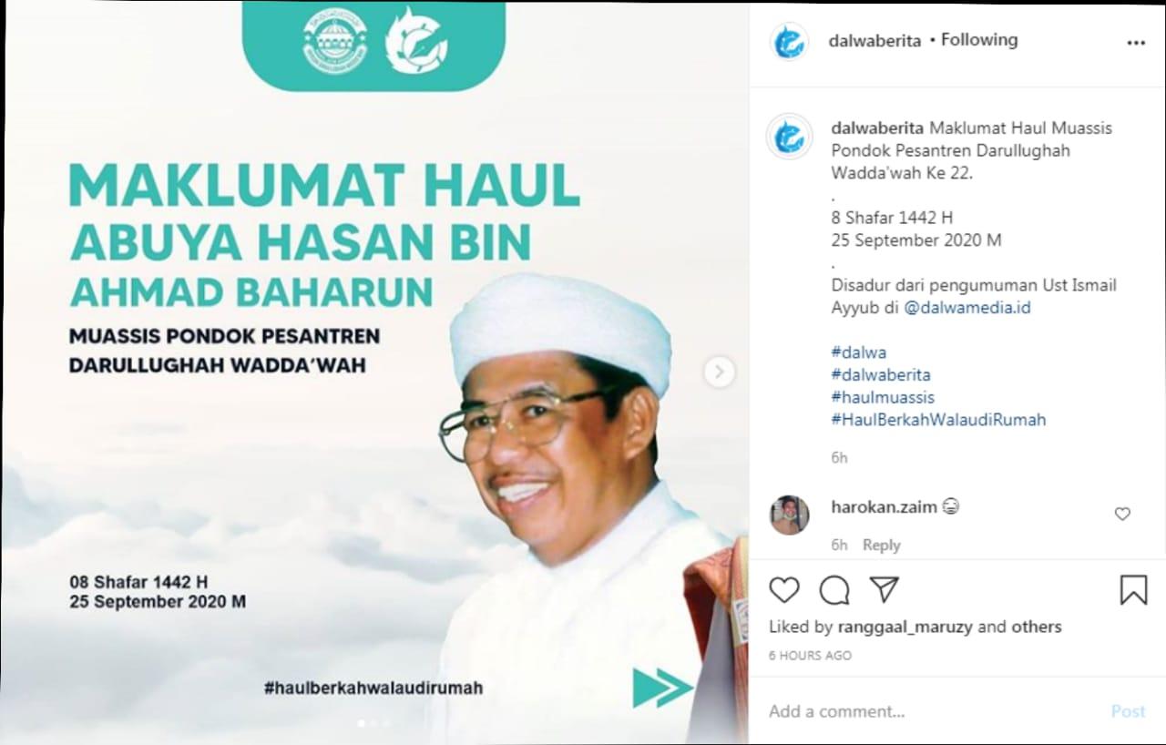 Maklumat Haul Abuya Hasan bin Ahmad Baharun ke 22