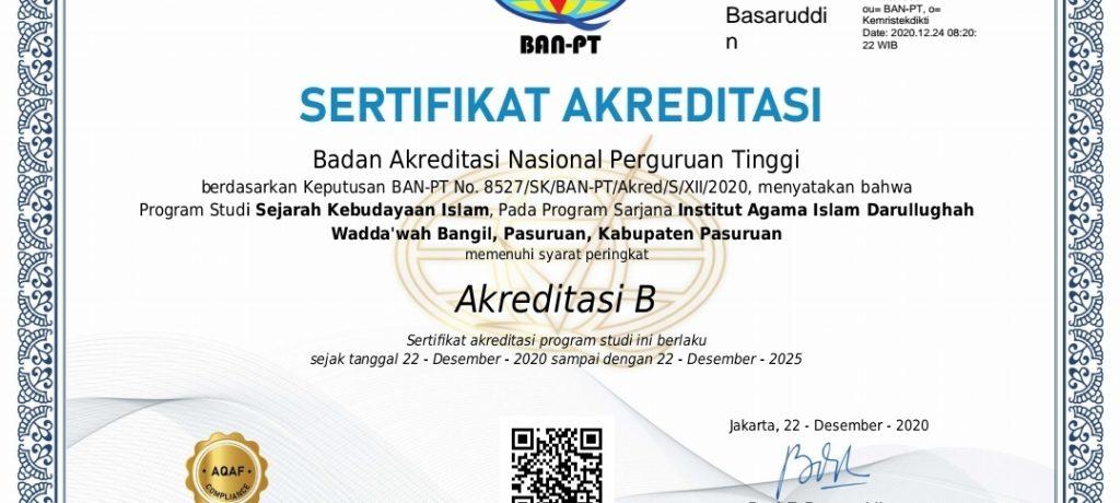 """Asesmen Lapangan Prodi SKI Fakultas Adab Terakreditasi """"B"""""""