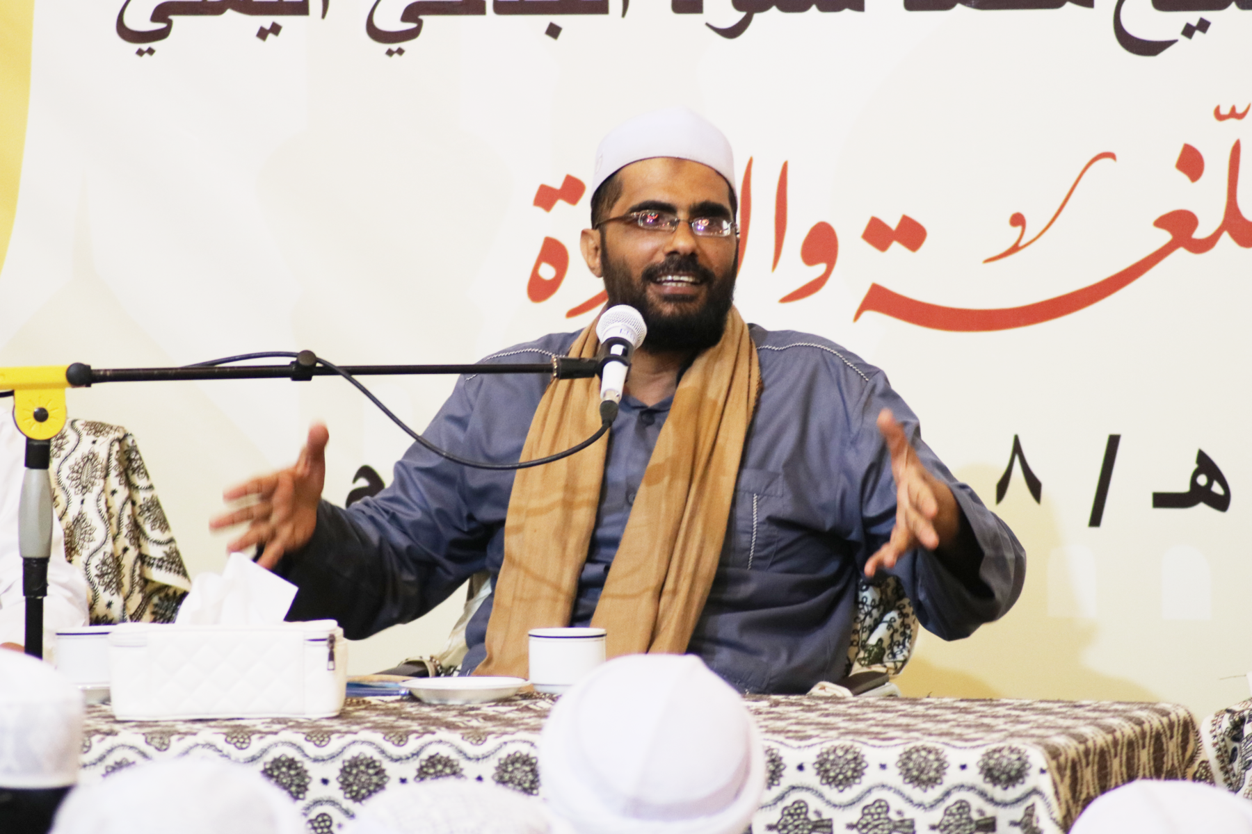 Syeikh Muhammad Su'ud Al Jidhi Ijazahkan Puluhan Sanad Kitab