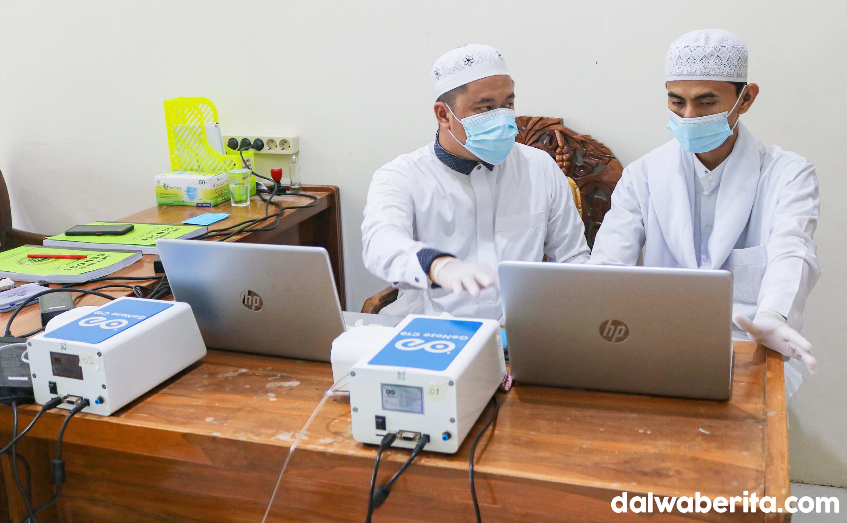 Detector GeNose C19 Mulai Digunakan di Ponpes Dalwa