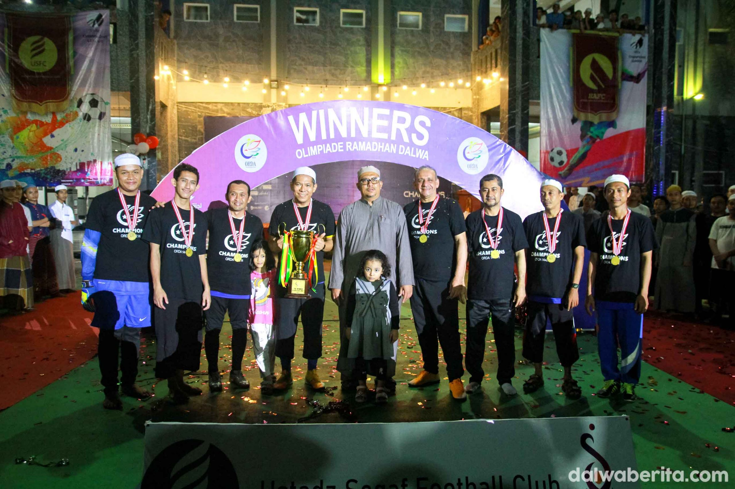Final Orda 1442 H, USFC keluar sebagai Juara